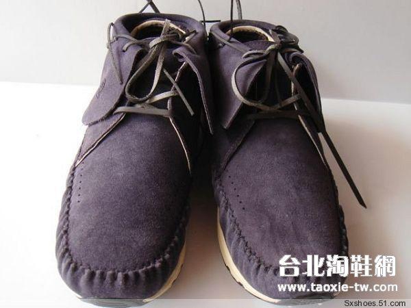 visvim 帆船鞋 紫色男鞋