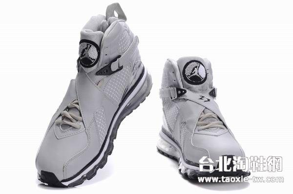 乔丹8代全气垫底男鞋