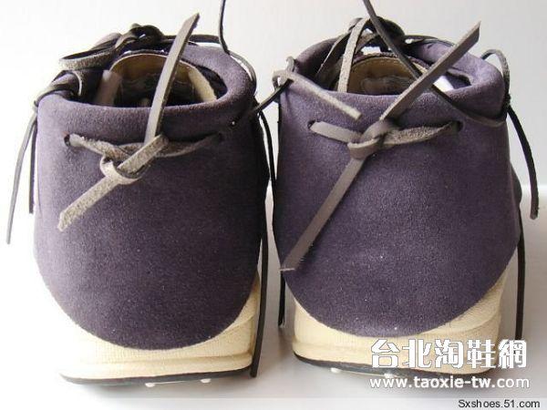 帆船鞋 紫色男鞋