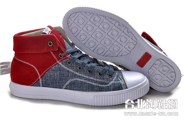 visvim帆布鞋