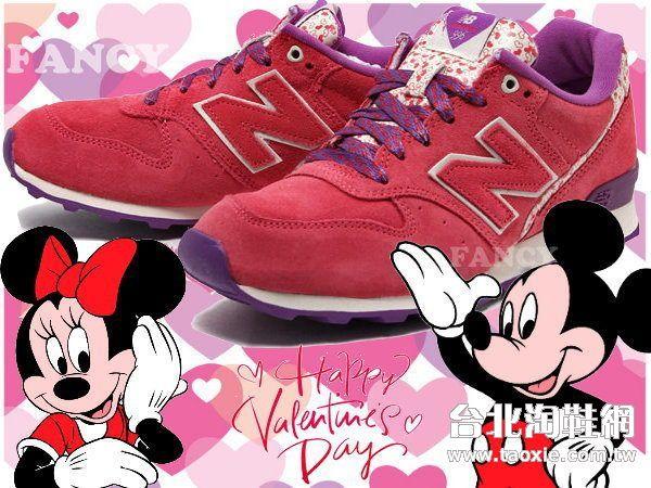 nb红色鞋子