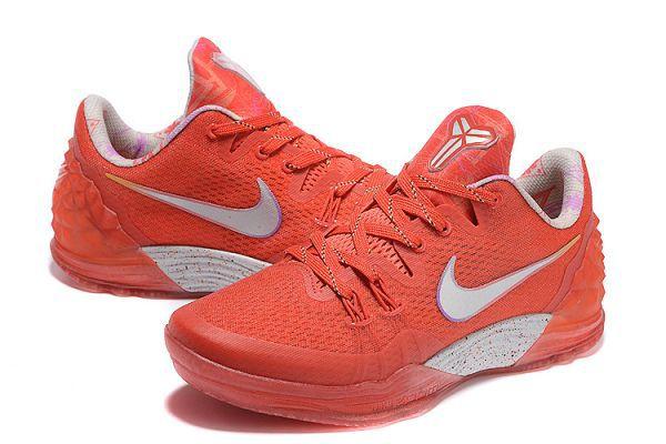帮男款球鞋 橘红色